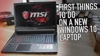 Video First Things to Do With a New Windows 10 Laptop | Kill Bloatware, Lock it Down, Make it Epic MP3, 3GP, MP4, WEBM, AVI, FLV Agustus 2018