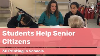 How Woodville Gardens PS Students Helped Senior Citizens with 3D Printing