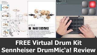 Sennheiser DrumMic'a! Review | FREE Virtual Drum Kit