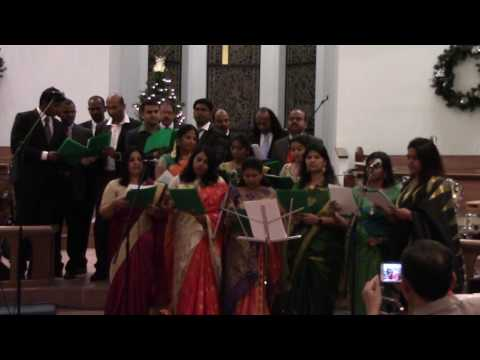 Oru Vanakilli - Tamil Christmas Song By Madras Melody At The Grand Indian Christmas Celebration 2016