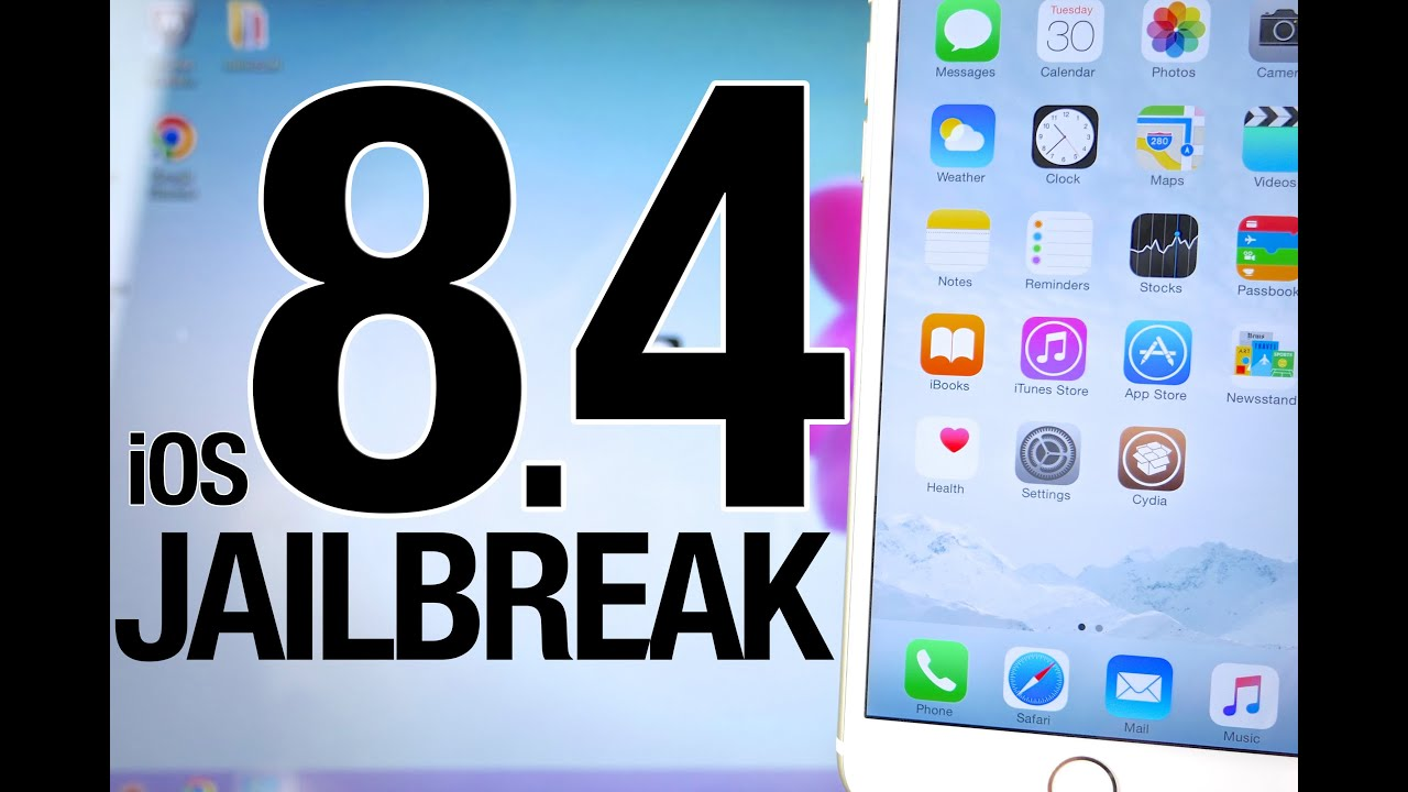 NEW How To Jailbreak iOS 8.4 Untethered – Taig 2.3.0 for iPhone, iPad & iPod