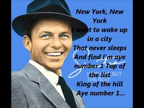"Theme From ""New York, New York"""