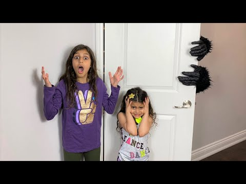 Deema and Sally with Monster in the closet stories