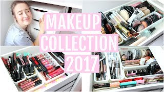 Video MAKEUP COLLECTION + STORAGE 2017 | Sophie Louise MP3, 3GP, MP4, WEBM, AVI, FLV Januari 2018