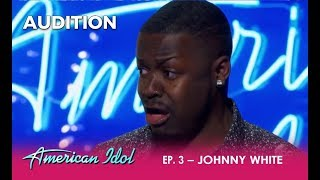 Video Johnny White: This Kid BRINGS It! The Judges Have To Tone Him Down | American Idol 2018 MP3, 3GP, MP4, WEBM, AVI, FLV September 2018