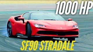 NEW Ferrari SF90 Stradale : 1000 HP ! by Motorsport Magazine