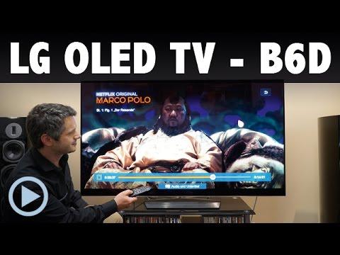 Vorstellung: LG OLED TV B6D Fernseher Smart TV Test 65