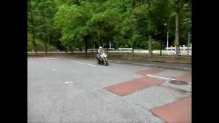 3. 2012 June Moto Guzzi V11 Coppa Italia test ride in Japan
