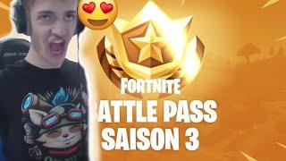 Fortnite NINJA Reacts To Battle Pass Season 3