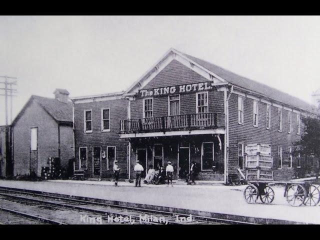 The  Former  King  Hotel  &  The  Hog  Rock  Cafe,  Milan,  Indiana