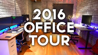 Ultimate Setup Tour! Early 2016 Epic office tour - This is a walk-through of my new office and filming location. New in-depth desk video coming soon! For mor...