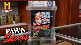 Pawn Stars: SUPER RARE Super Mario is SUPER EXPENSIVE (Season 17)   History