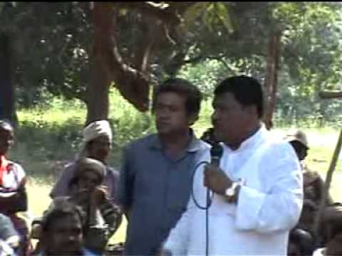 Sri Jual Oram with people aginst corruption of Communist party