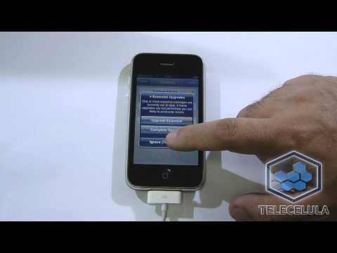 3Gs - Procedimentos para efetuar o Jailbreak untreated com justboot e desbloqueio de sim card em iphone 3GS iOS 6.1.6 - Tutoriais Telecelula 2014.