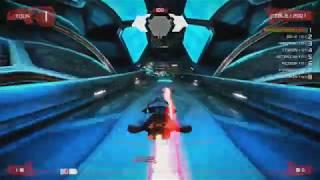 """Wipeout Omega Collection sur PlayStation 4 Pro: Notre Test Video Review de ce jeu de course futuriste exclusif à la Playstation 4. Il s'agit d'une compilation regroupant les remaster en 1080p (PS4) ou 4K Dynamique (PS4 Pro) @ 60fps de:- Wipeout HD (2008 sur PS3)- Wipeout HD Fury (2009 sur PS3)- Wipeout 2048 (2012 sur PS Vita)De quoi concourir sur 26 circuits et pas moins de 9 types d'épreuves différentes au volant de 46 bolides, avec plus de 200 médailles à récupérer pour une durée de vie monstrueuse! Un titre à réserver aux fans de la saga ou à ceux cherchant un jeu de course old school à l'animation décoiffante et à la bande-son techno-trance de qualité!Enregistré grâce au Live Gamer Portable 2 de AVer Media, en 1080p@60fps pour http://www.n-gamz.com- Les points positifs: 3 Wipeout réunis dans un superbe écrin visuel, dont l'incroyable 2048/ Une animation à 60fps constant/ Une durée de vie titanesque/ Un grand nombre de véhicules/ La 4K sur PS4 Pro est nette/ Un bon boulot de remasterisation. Le jeu à deux en écran splitté/ L'univers Wipeout est inimitable/ La bande-son puissante- Les points négatifs: Seulement en 4K """"Dynamique"""" sur PS4 Pro/ On aurait voulu un mode solo scénarisé pour éviter le coté répétitif et sans âme/ Même remasterisé, on sent le titre old-gen/ Peu de nouveauté/ Wipeout HD n'est pas l'un des meilleurs à notre sens, bien qu'il soit le plus fourni niveau contenu- La Note Vidéo-Test: 17/20"""