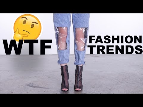 WEIRD AF Fashion Trends LOOKBOOK | HIT OR MISS?!