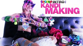 Intro To Kandi Making [iHeartRaves.com] - YouTube