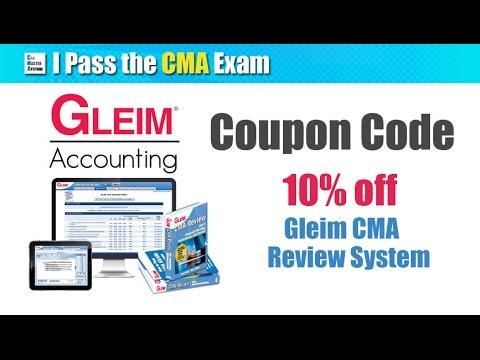Gleim CMA Review System Walkthrough (Good for 2018) (видео)
