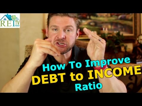 How To Improve Debt To Income Ratio