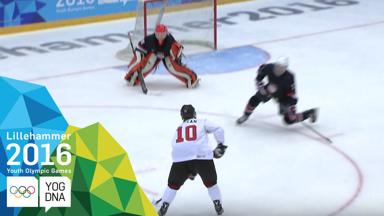 Ice Hockey – Men's Preliminaries – USA vs Canada | Lillehammer 2016 Youth Olympic Games