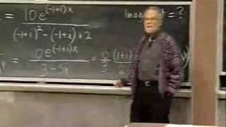 Lec 13   MIT 18.03 Differential Equations, Spring 2006