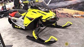 6. 2019 Ski Doo MXZ X 600R E-Tec Sled - Walkaround - 2018 AIMExpo Las Vegas