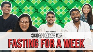 Video Singaporeans Try: Fasting For A Week For Ramadan | EP 105 MP3, 3GP, MP4, WEBM, AVI, FLV Februari 2019