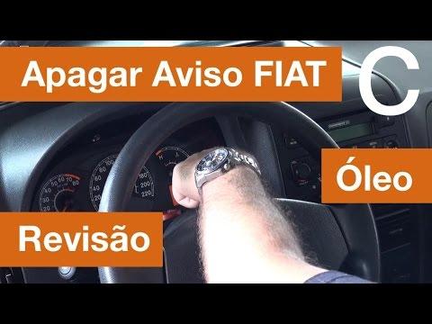 Dr CARRO Apagando Aviso Revisão/Óleo Painel Fiat - Computador de Bordo