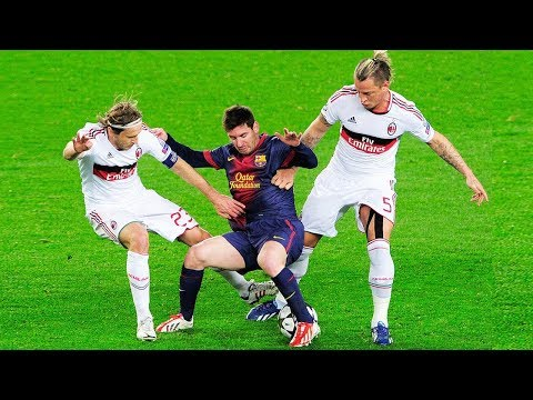 When The Whole Team Tries to Stop Lionel Messi ● Escaping From The Most Diffic