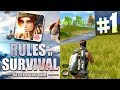 MOBILE BATTLE ROYALE RULES of SURVIVAL NEW iOSAndroid GAME Episode 1 waptubes
