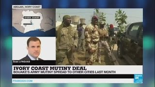 Ivory Coast govt announces deal to end standoff with rebel troops