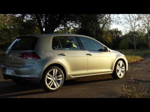 2015 Volkswagen Golf TDI Video Review