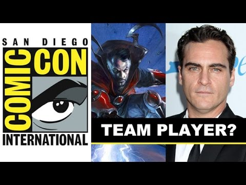 strange - Today is looks like Joaquin Phoenix is cast as Dr Strange, but will he show up for Marvel's Comic Con 2014 panel in Hall H?! http://bit.ly/subscribeBTT Now Marvel has had a Comic Con 2014...
