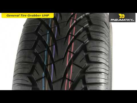 Youtube General Tire Grabber UHP 265/70 R15 112 H Univerzální