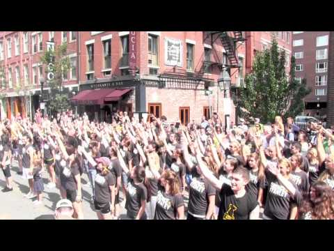 Video: Stanley Cup Flash Mob on Hanover Street