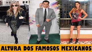 Caliete News apresenta:ALTURA DOS FAMOSOS MEXICANOSSaiba a altura dos seus artistas favoritos!Saiba quanto medem os atores das novelas mexicanas.INSCREVA-SE NO CANAL CALIENTE NEWSClique: https://www.youtube.com/c/CalienteNewsOficial?sub_confirmation=1++++++++++++++++++++++++++++++++++++Pioneers de Audionautix está licenciada sob uma licença Creative Commons Attribution (https://creativecommons.org/licenses/by/4.0/)Artista: http://audionautix.com/+++++++++++++++++++++++++++++++++++++Faça parte do canal e interaja com milhares de apaixonados por novelas mexicanas!Clique, inscreva-se e participe: https://www.youtube.com/c/CalienteNewsOficial?sub_confirmation=1Assista também:OS FINAIS DAS VILÃS DAS MAIORES NOVELAS MEXICANAS: https://www.youtube.com/watch?v=vzbpHuDtOXkARTISTAS MEXICANOS E O CIGARRO: https://www.youtube.com/watch?v=DaVJYzDS0R8ARTISTAS DE NOVELAS MEXICANAS EM COMERCIAIS DE TV: https://www.youtube.com/watch?v=Gt_fyp-iP0ECurta, comente e compartilhe os vídeos do canal Caliente News com seus amigos!Gracias!