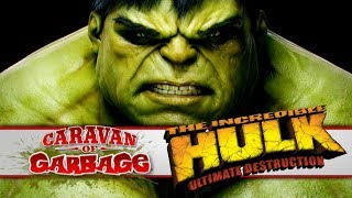 The Incredible Hulk Ultimate Destruction (PS2) - Caravan Of Garbage