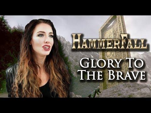 "Hammerfall  ""Glory To The Brave"" Cover by Minniva Børresen"