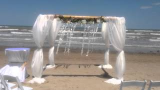 Bamboo with sea shells Gazebo