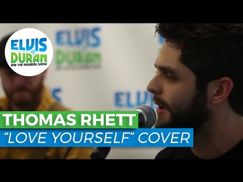 "WATCH: Thomas Rhett Cover's Justin Bieber's ""Love Yourself"" LIVE"