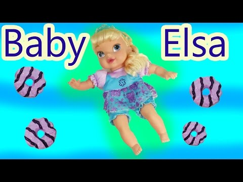 BABY - SUBSCRIBE: http://www.youtube.com/channel/UCelMeixAOTs2OQAAi9wU8-g?sub_confirmation=1 Disney's movie Frozen baby Queen Elsa toy review. Let's feel baby Elsa some Play-doh cookies ...