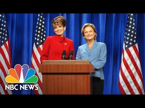 Saturday Night Live's Long History Of Political Parodies | NBC News