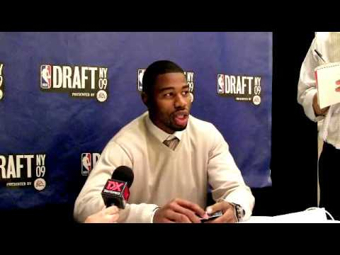 Terrence Williams - 2009 NBA Draft Media Day Interview
