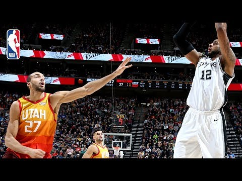 Video: Spurs vs Jazz | Full Game Recap: Gobert & Aldridge Duel In Utah
