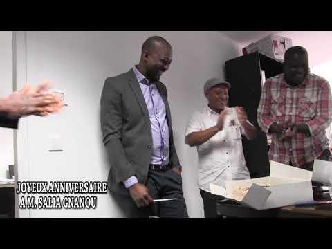 COTE D'IVOIRE: ANNIVERSAIRE SURPRISE DE MR SALIA GNANOU