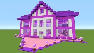 Minecraft - Awesome (BARBIE DREAM HOUSE!!!) - Survival House #39