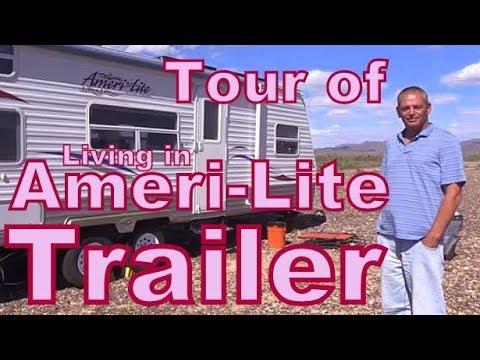 Tour of an Ameri-lite Travel Trailer