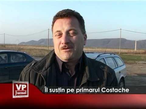 Îl susţin pe primarul Costache