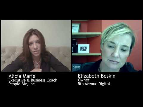 Business Coaching Session with Business Coach Alicia Marie and Elizabeth Beskin