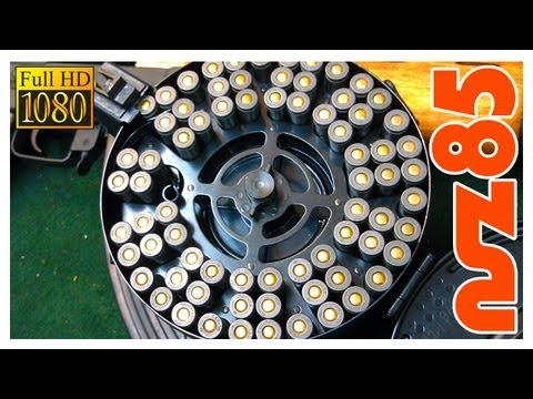 AK-47: How To Load A Drum Mag (HD)